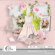 Elements CU - 125 by Cajoline-Scrap