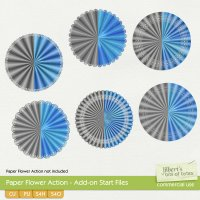 Paper Flower Action - Add-on Start Files