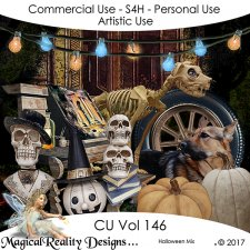 Halloween Autumn Mix Vol 146 by MagicalReality Designs