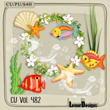 CU Vol 482 Summer Beach by Lemur Designs