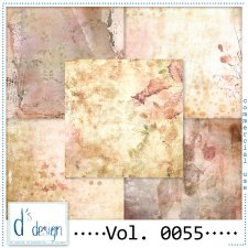 Vol. 0055 - Vintage papers - by Doudou's Design