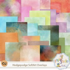 Hodgepodge SoftArt Overlays EXCLUSIVE by Papierstudio Silke