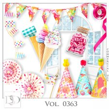 Vol. 0361 to 0364 Party Mix by D's Design