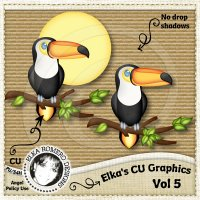 Elka's CU Graphics - Vol 5