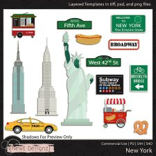EXCLUSIVE Layered New York Templates By NewE Designz