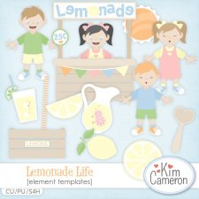 Lemonade Life Templates by Kim Cameron