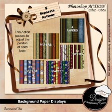 Background Paper Displays by Boop Designs