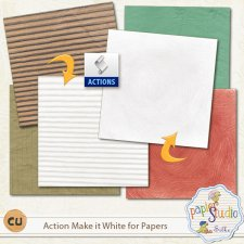 Action Make it White for Papers EXCLUSIVE by PapierStudio Silke