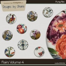 Flairs Vol 4 - Flower EXCLUSIVE Designs