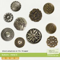 Buttons - Metal 2