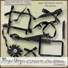 CU vol 71 Chics Ribbons by Florju Designs