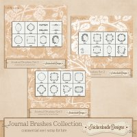 Journal Brushes Collection