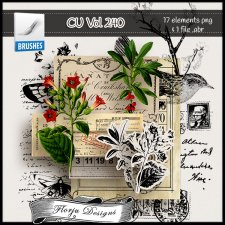 CU vol 240 Mix pack by Florju Designs