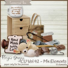 CU vol 42 Mix Elements by Florju Designs