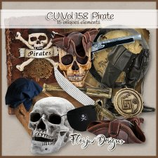 Cu vol 158 Pirate Florju Designs