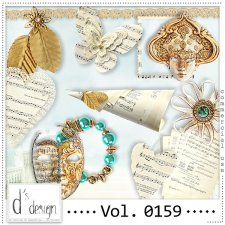 Vol. 0159 Music & Masquerade Mix by Doudou Design