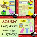 All Baby ULTIMATE ACTIONS by Boop Designs
