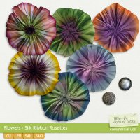 Flowers - Ribbon Rosettes