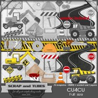Construction Templates CU4CU by Scrap and Tubes