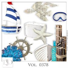 Vol. 0378 to 0383 Sea Mix by D's Design