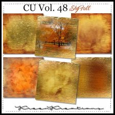 CU Vol. 48 Papers Pack Sky Fall by Kreen Kreations
