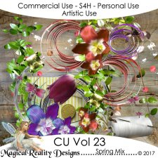 Spring Mix - CU Vol 23 by MagicalReality Designs