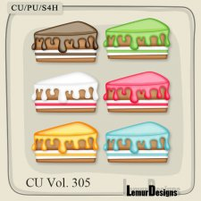 CU Vol 305 Cake 2 by Lemur Designs
