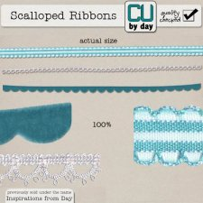 Scalloped Ribbons