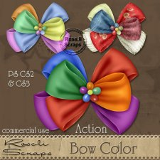 Action - Bow Color by Rose.li