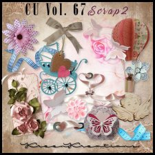CU Vol. 67 Scrap Element Mix 2 by Kreen Kreations