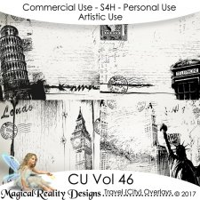 Travel City Overlays - CU Vol 46 by MagicalReality Designs