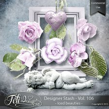 Designer Stash Vol 106 Iced Beauties - by Feli Designs