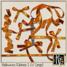 Halloween Ribbons 2 by Kathryn Estry