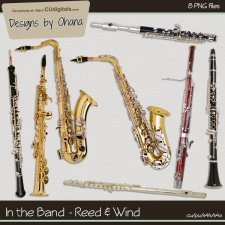 Band Music - Reed & Wind - EXCLUSIVE Designs by Ohana
