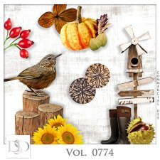 Vol. 0774 Autumn Nature Mix by D's Design