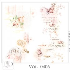 Vol. 0406 Floral Accents by D's Design