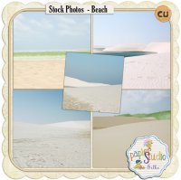 Stock Photos - Beach by Papierstudio Silke