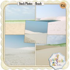 Stock Photos - Beach EXCLUSIVE by PapierStudio Silke