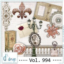 Vol. 994 - Vintage Mix by Doudou's Design
