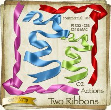 Action - Two Ribons by Rose.li