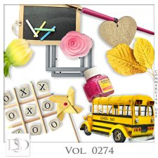 Vol. 0274 School Mix by D's Design