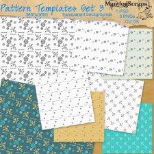 Pattern Templates Set3 by Mandog Scraps