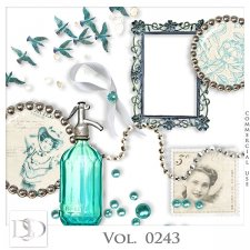Vol. 0243 Vintage Mix by Doudou Design