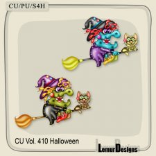 CU Vol. 410 Halloween Witch