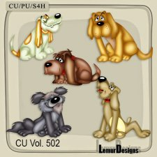 CU Vol 502 Dogs by Lemur Designs