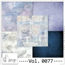 Vol. 0077 Grunge Vintage papers by Doudou's Design