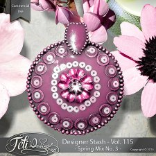 Designer Stash Vol 115 Spring Mix No 3 - by Feli Designs