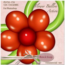 Action - Flower Ballon by Rose.li