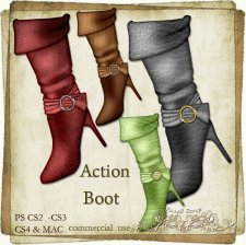 Action - Boot by Rose.li