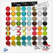 Styles - Happy Colors by Julia Fialho
